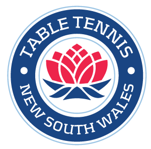 Table Tennis New South Wales Logo
